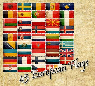 european flags by shetty05