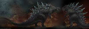 Godzilla-Concept Sketches