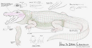 How to Draw Crocodiles by arvalis