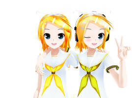 MMD Lat Rin Summer Style UPDATED by h0ldm4litfupny