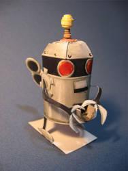 papercraft PA friut robot kit