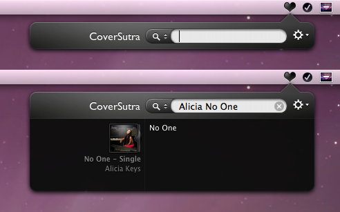 Coversutra Searchbar mod