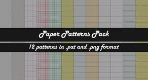 Paper Patterns Pack