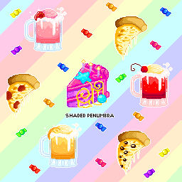 Pixel Pizza Party By Shadedpenumbra On Deviantart
