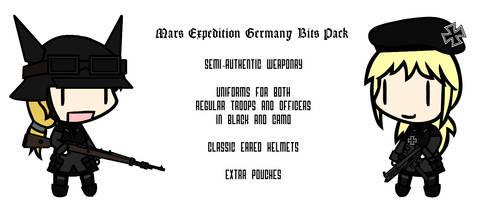 Walfas Custom - German Bits For Mars Expedition