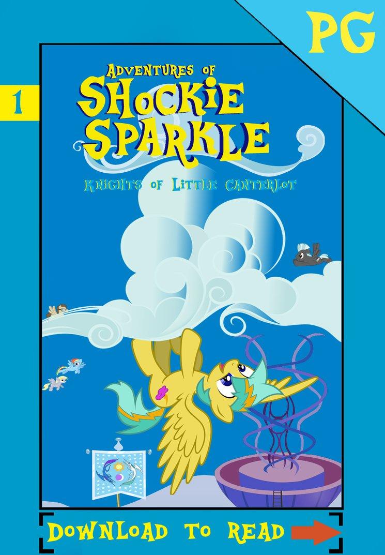 KOLC: Adventures of Shockie Sparkle by AlmanacPony by Cloudzapper8