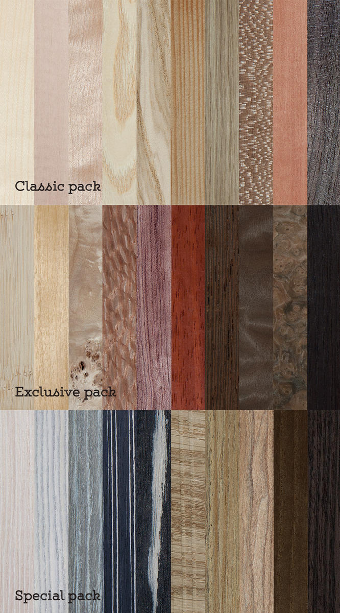 Wood textures preview pack by oosDesign