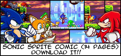 UNTITLED SONIC COMIX by HalfSword