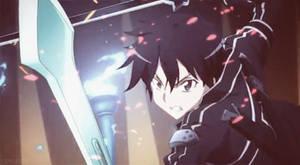 SAO GIF - Kirito by leylalau