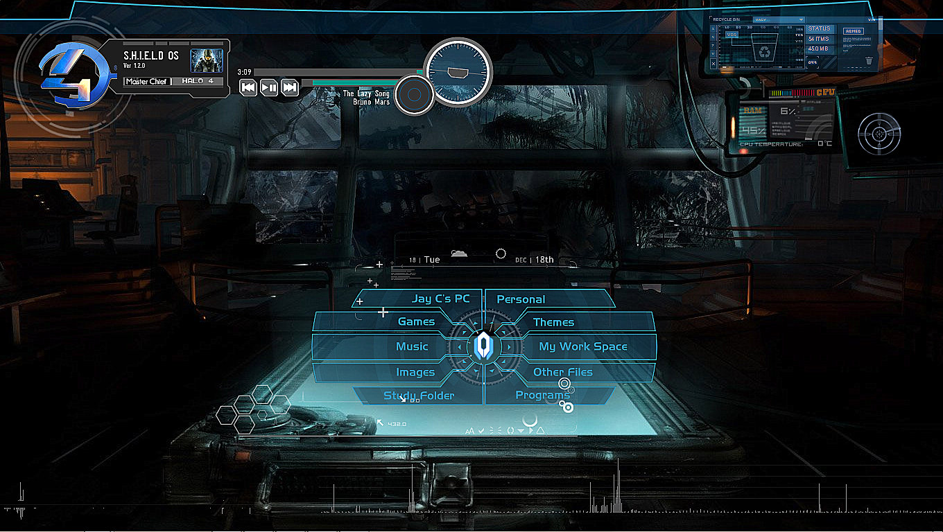 Most Popular,Top Rated  HALO Windows 7/8/8.1 theme