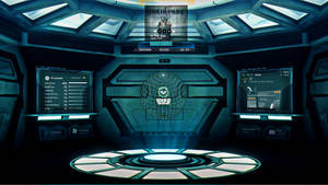 Prometheus Windows 7 Theme-Rainmeter rated popular by mannem