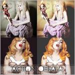 PHOTOSHOP ACTION+OHLALA