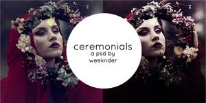 Ceremonials   PSD Coloring