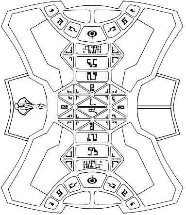 Kotra - A Cardassian Board Game by Abayomi