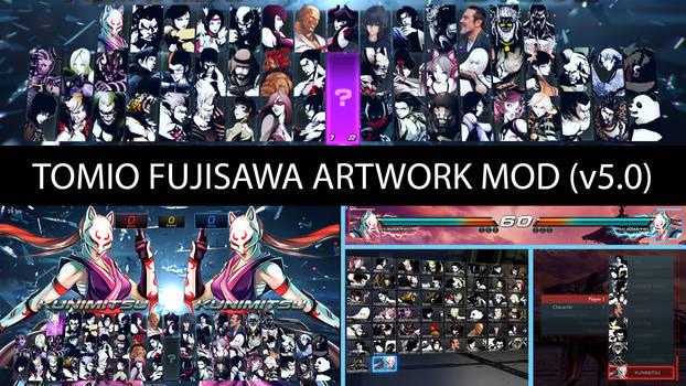 Tekken 7 [HUD] T Fujisawa Artwork Mod (v5.0)