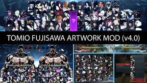 Tekken 7 [HUD] T Fujisawa Artwork Mod (v4.0)