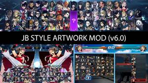 Tekken 7 [HUD] JB Style Artwork Mod (v6.0)