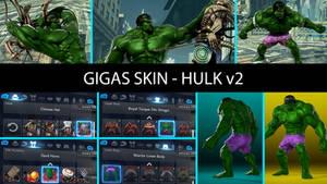 Skin (Gigas) - Hulk v2