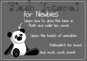 Flash Tutorial for Newbies by madelief