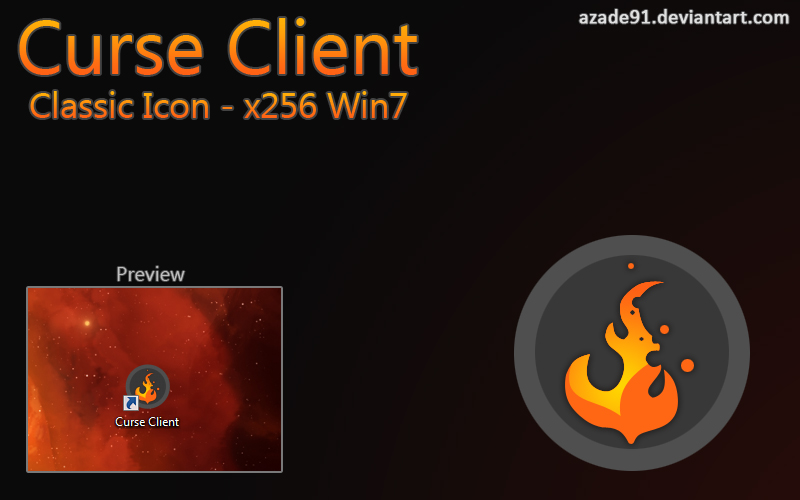 Classic Curse Client Win7 Icon by Aethyrd on DeviantArt