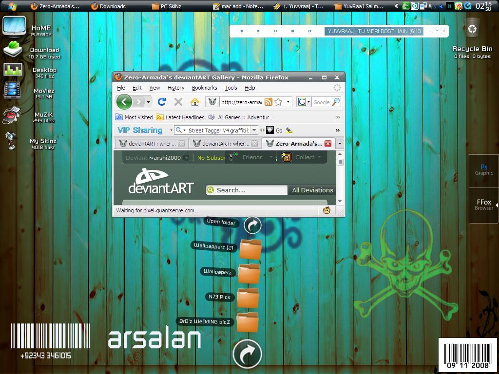 Stack Docklet For ObjectDock by arshi2009 on DeviantArt