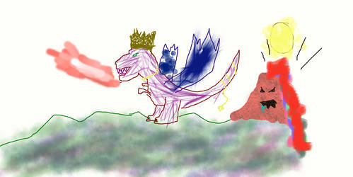 King Dragosaur Rules All The Things