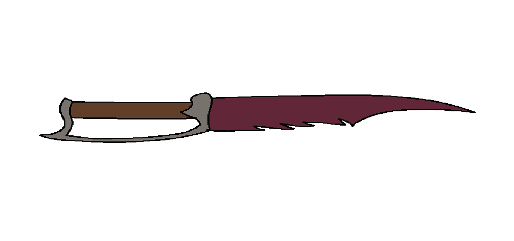 silents combat knife of crystal by malis22