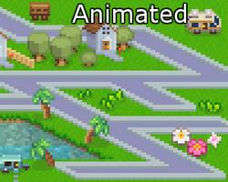 Cube City Animation