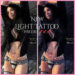 MysticArtDesign Light Tattoos by Mysticartdesign