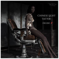 MysticArtDesign Chinese Light Tattoos by Mysticartdesign