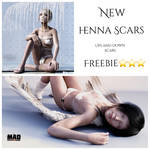 MysticArtDesign Henna-Scars