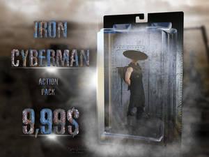 Fun render of an advertisement for an action figur