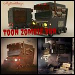 Toon Zombie Van