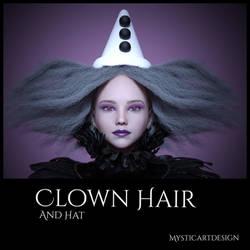 Clown Hair