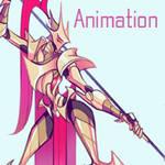 Dancer knight - idle animation