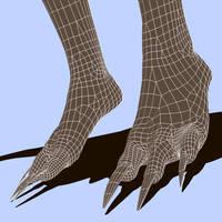 A3 Viera Foot Morph by Lokai2000