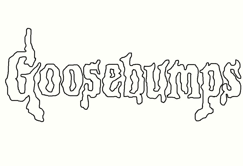 goosebumps horrorland coloring pages - photo#25