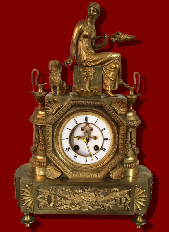 Old Clock For Xwidget by DaveBreck