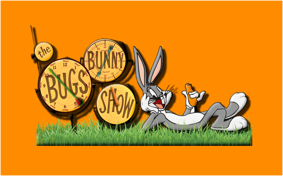 Bugs Bunny Clock For Xwidget by DaveBreck
