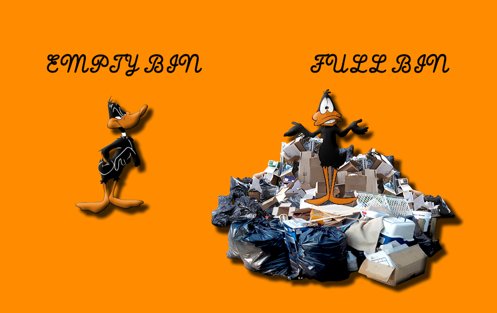 Daffy's Dump Recycle bin For Xwidget by DaveBreck