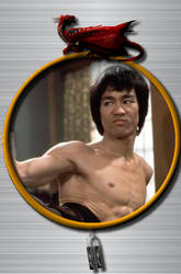 Bruce Lee Photo Frame for xwidget by DaveBreck
