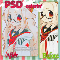 PSD Coloring 11 by PiChi4329