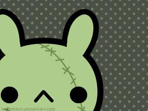 Zombie Bunny Wallpaper