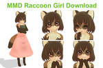 [MMD] Raccoon Girl Download
