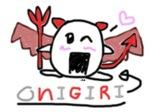 Animated Devil Onigiri. by iMistyRose
