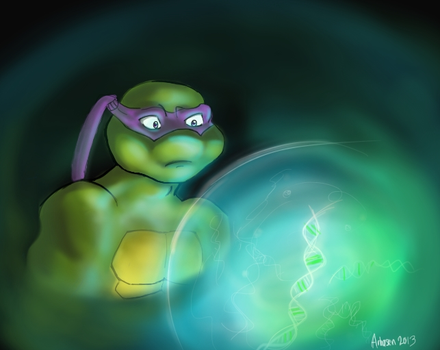 TMNT FanFic 'The Bonds between Turtle and Pet' by Arhasen on