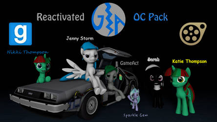 GameAct ReActivated OC Model Pack by GameAct3