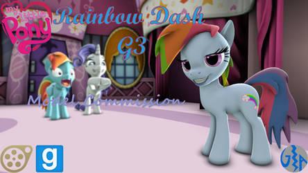 Rainbow Dash (MLP G3, SFM/GMod DL) Commission