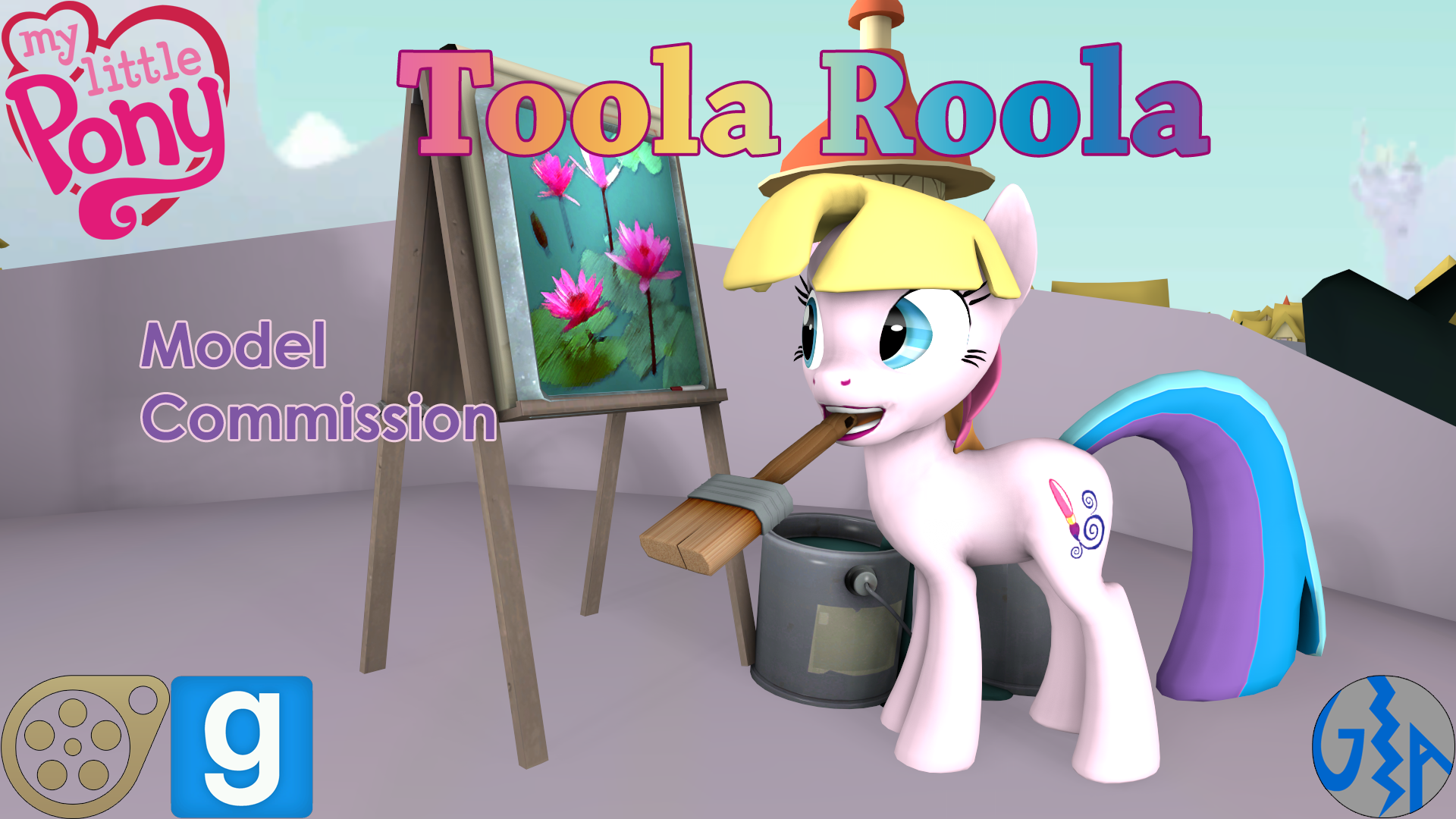 Mlp Stuff Gmod Sfm 3d Art Compilation: Toola Roola (MLP G3, SFM/GMod DL) Commission By GameAct3