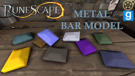 RuneScape Metal Bar SFM/GMOD Model Download by GameAct3